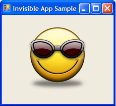 invisibleappsample